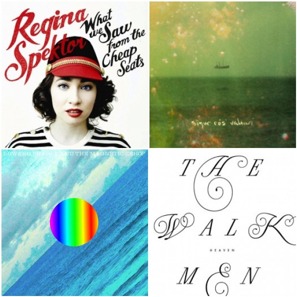 regina sigur ed sharpe walkmen Stream new albums from Regina Spektor, Sigur Rós, Edward Sharpe & the Magnetic Zeros