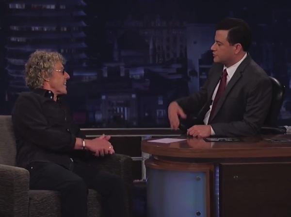 roger daltrey kimmel Video: Roger Daltrey on Jimmy Kimmel Live!