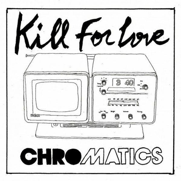 kill for love 575x575 e1340069490275 Chromatics, Desire release new black and white art book