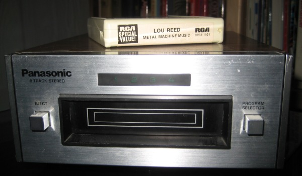 panasonic8 track Nod Your Head: Knowing Your Elbow From An Arpeggio