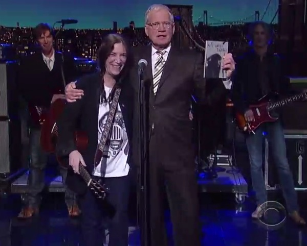 patti smith letterman Video: Patti Smith on Letterman