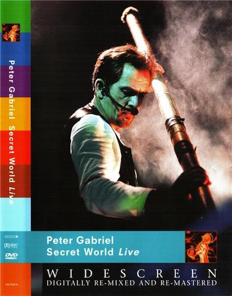 secret world live Peter Gabriel to reissue Secret World Live on DVD and Blu ray