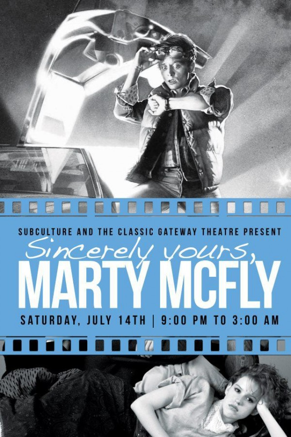 sincerelyyours e1340725212455 CoS presents Sincerely Yours, Marty McFly at Ft. Lauderdales Gateway Theatre on July 14th