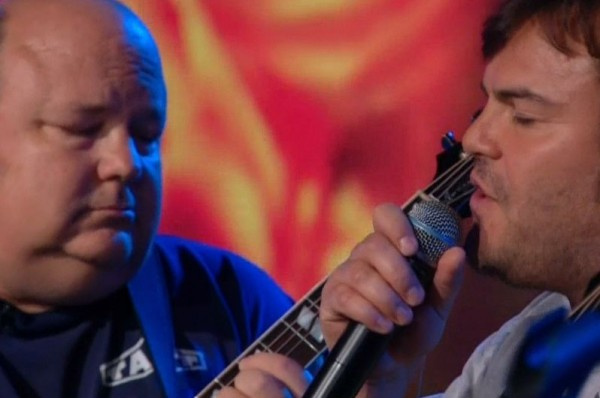 Video: Tenacious D on The Daily Show
