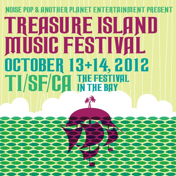 treasure island 2012 Treasure Island Music Festival reveals 2012 lineup
