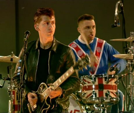 arctic monkeys olympics Arctic Monkeys cover Come Together at the Olympics