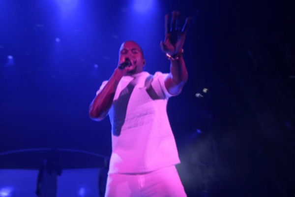 kanye west bet awards Video: Kanye Wests G.O.O.D Music, DAngelo play BET Awards