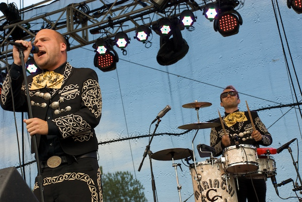 mariachi el bronx 2 Festival Review: CoS at Firefly 2012