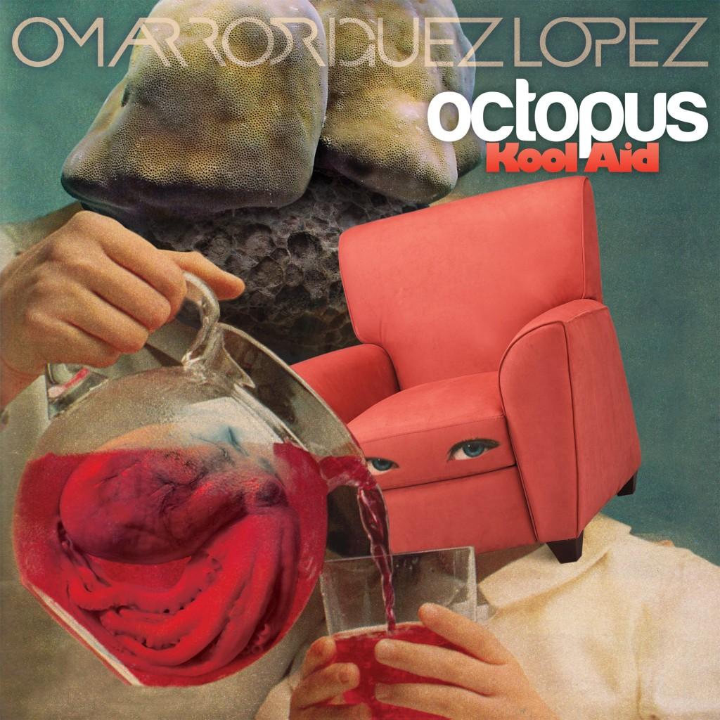 omaroctokoolaidcover 1024x1024 Stream: Omar Rodríguez López   Octopus Kool Aid