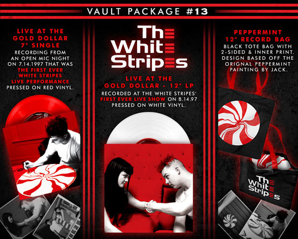 third man white stripes vault Third Man Records to release recording of The White Stripes first concert