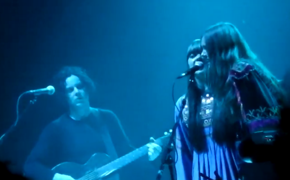 whitefak main Video: Jack White and First Aid Kit perform Were Going to Be Friends