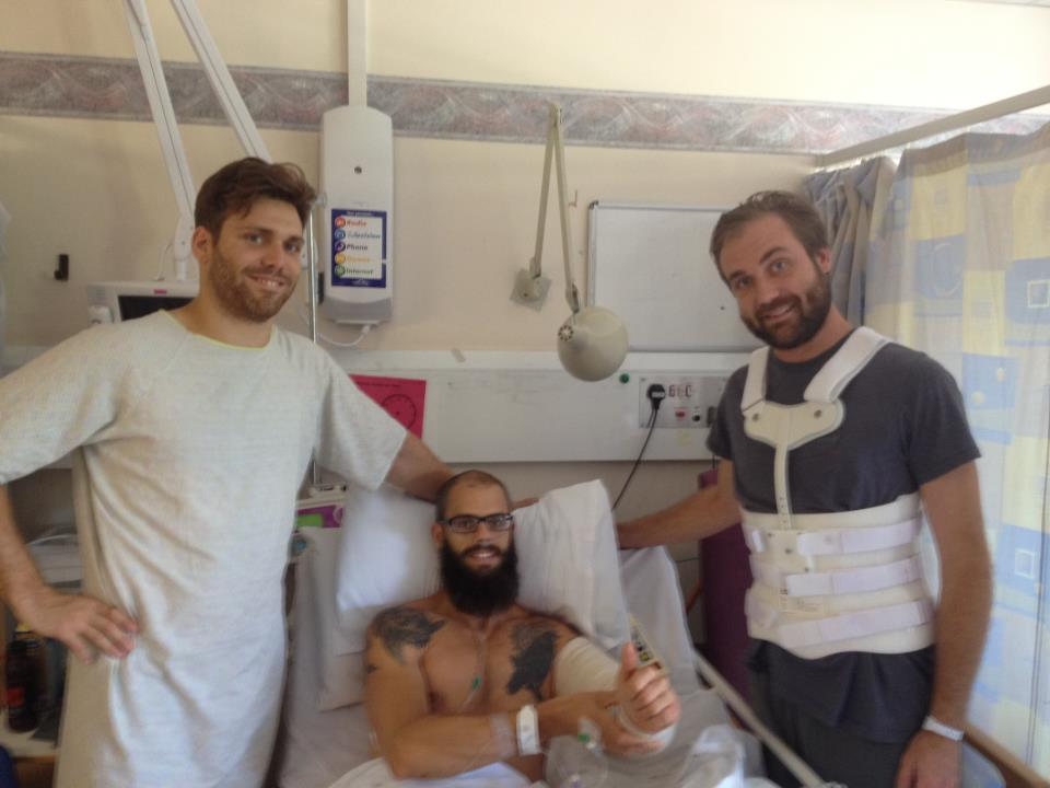 baroness injuries1 Baroness members released from hospital, cancel all upcoming tour dates
