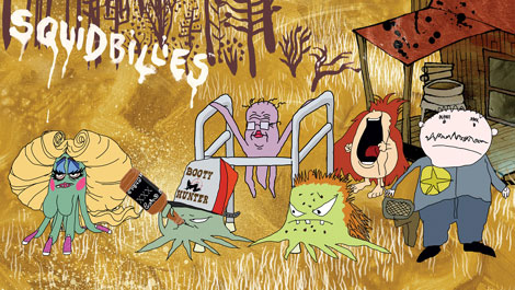 lambchopsquidas main Alabama Shakes cover Squidbillies theme