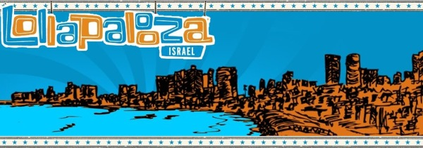 Lollapalooza coming to Israel in 2013