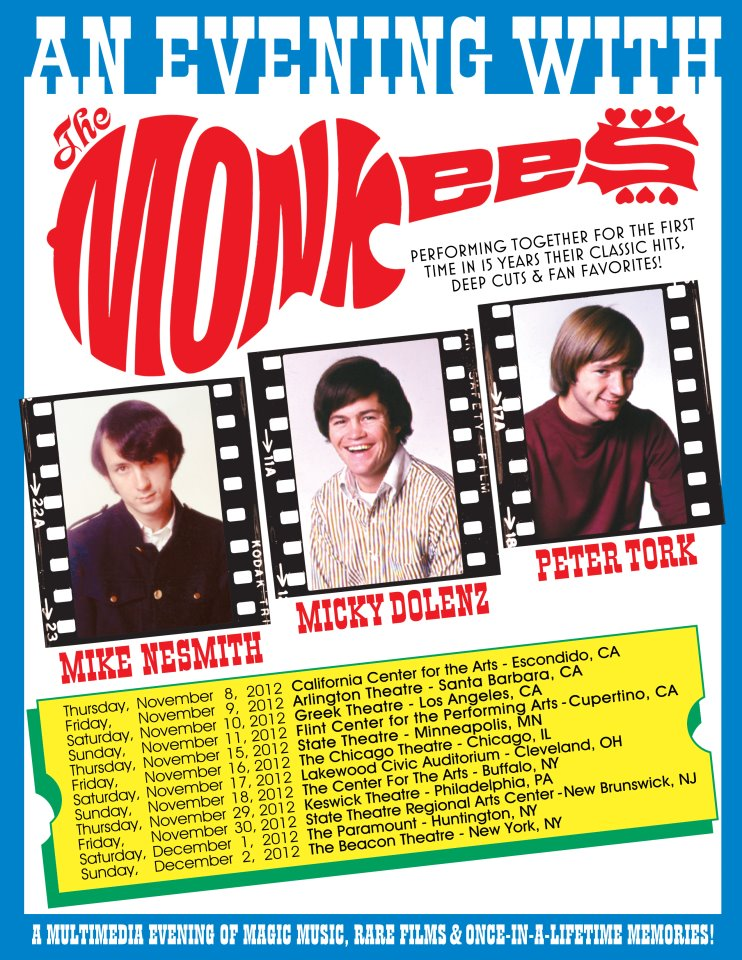 monkees1 Surviving members of the The Monkees announce U.S. tour