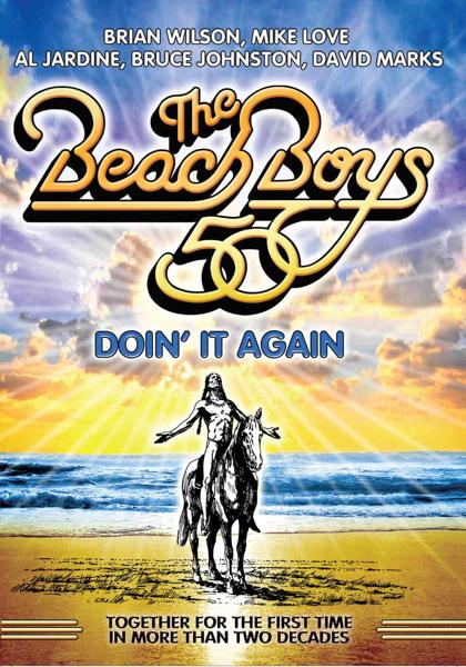 the beach boys cover art The Beach Boys announce reunion DVD: Doin It Again