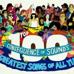 The 100 Greatest Songs of All Time, artwork by Steven Fiche