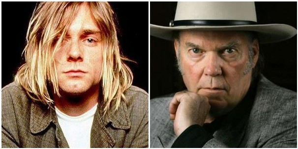 cobain young Neil Young on Kurt Cobains suicide: It fucked with me