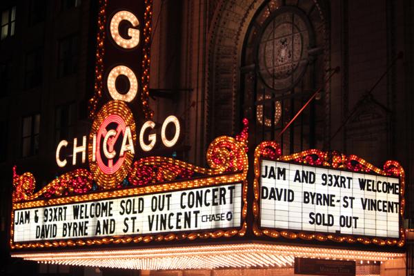 cos byrne vincent 27 Live Review: David Byrne & St. Vincent at The Chicago Theatre (9/18)