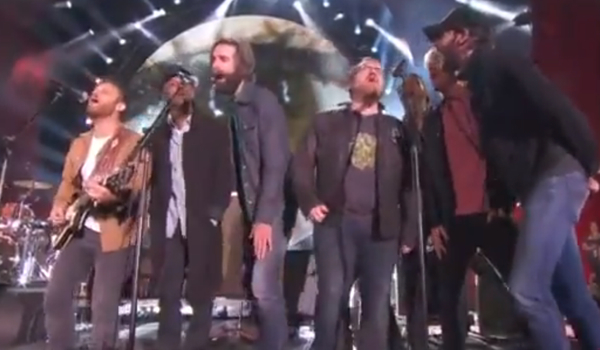 global citizen Video: Neil Young and Crazy Horse, Foo Fighters, The Black Keys, Band of Horses perform Rockin in the Free World