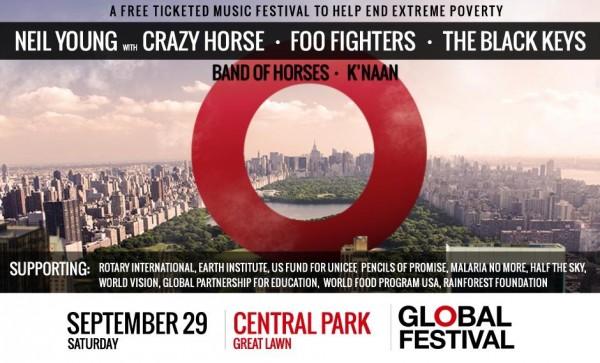 Webcast: Global Citizen Festival