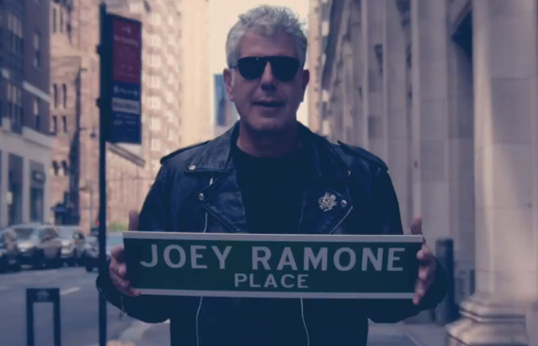 joey ramone nyc Video: Joey Ramone   New York City