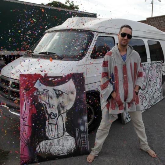 josepharthur vanfound Joseph Arthur buys back missing van