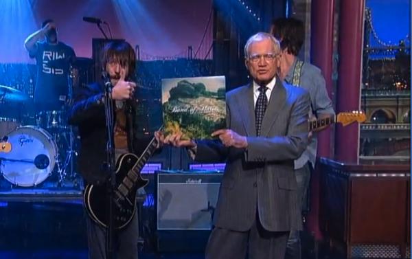 Band of Horses Letterman