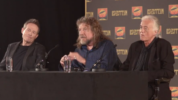 Led Zeppelin press conference