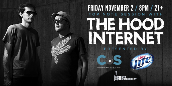 hood cos miller Consequence of Sound partners with Chicagos Metro for Top Note Sessions