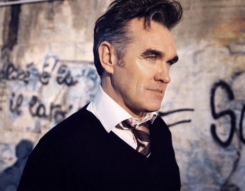 morrissey1 Morrissey reschedules tour dates, playing a high school