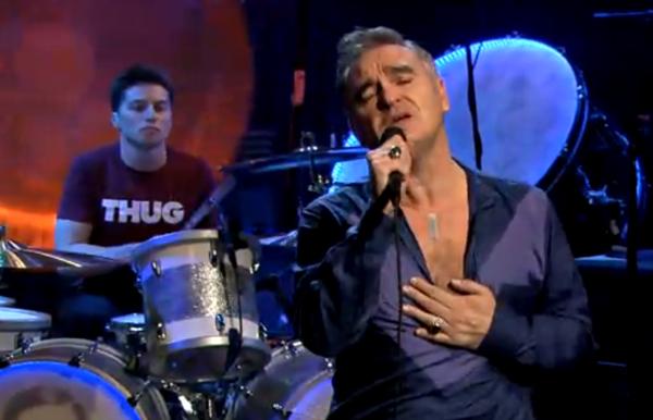 moz fallon 1 Video: Morrissey on Jimmy Fallon