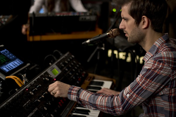 mute math 3 e1350661087713 Video: MUTEMATH perform Blood Pressure in the Moog Sound Lab