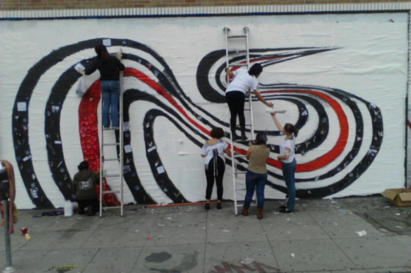 punkrockmarthas elliott smith e1351050976712 Elliott Smiths Figure 8 mural restored by local group