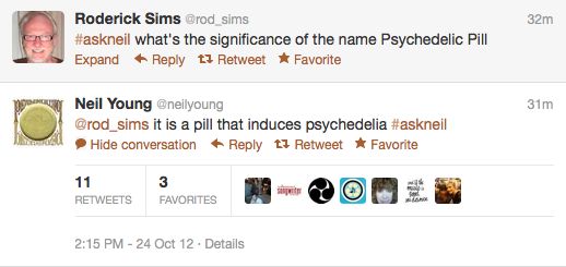 screen shot 2012 10 24 at 2 47 08 pm Recapping Neil Youngs inaugural Twitter Q&A