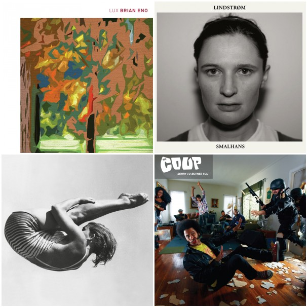 stream eno lindstrom stott coup Stream new albums from Brian Eno, Lindstrøm, Andy Stott, and The Coup