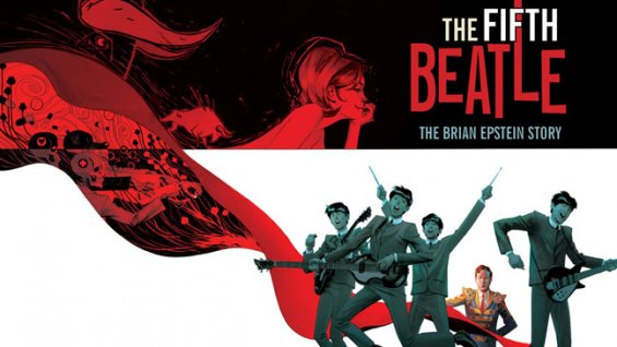 the fifth beatle Brian Epstein graphic novel being adapted into film