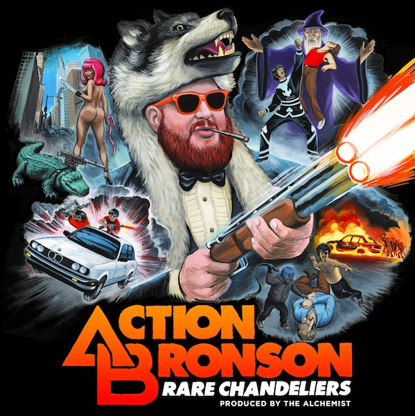actionbronson rc Look at the incredible artwork for Action Bronsons Rare Chandeliers