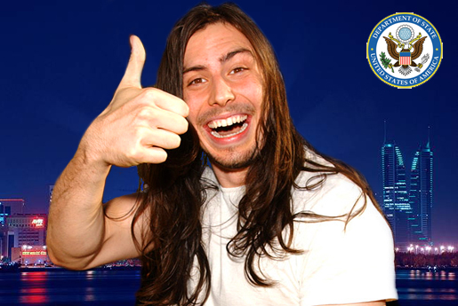 andrew wk ambassador Andrew WK is no longer the United States Culture Ambassador to the Middle East
