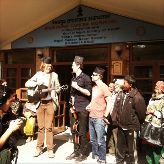 brett dennen everest 1 Follow G. Love and Brett Dennen as they climb Mt. Everest