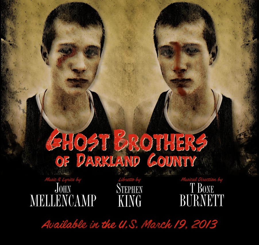 ghost brothers Stephen King nabs Elvis Costello, Neko Case for Ghost Brothers of Darkland County CD/DVD