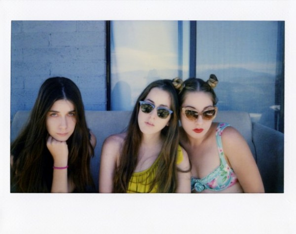 Watch HAIM perform new track Falling for BBC Radio
