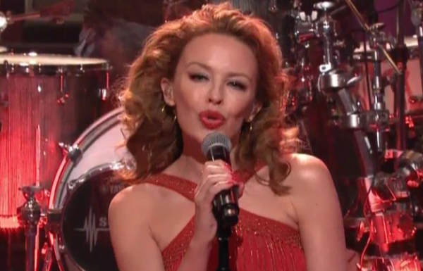 kylie minogue leno 600 e1352959171393 Video: Kylie Minogue on Leno