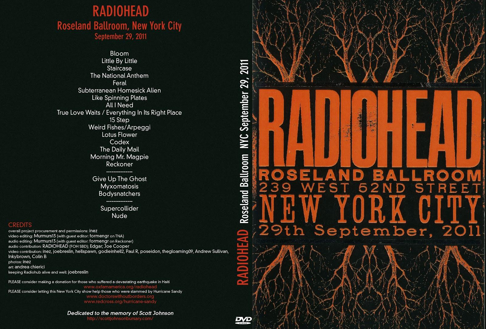 Watch a fan made Radiohead concert film