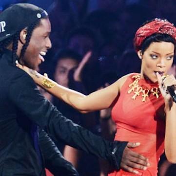 Rihanna och ASAP Rocky är de dating