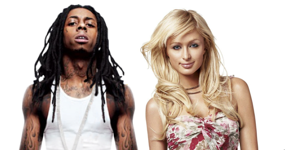 screen shot 2012 11 20 at 7.54.40 am e1353419771209 That one time Lil Wayne and Paris Hilton made a song together