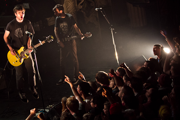 titus andronicus 2012 larson 2 Live Review: Titus Andronicus at Chicagos Metro (11/25)