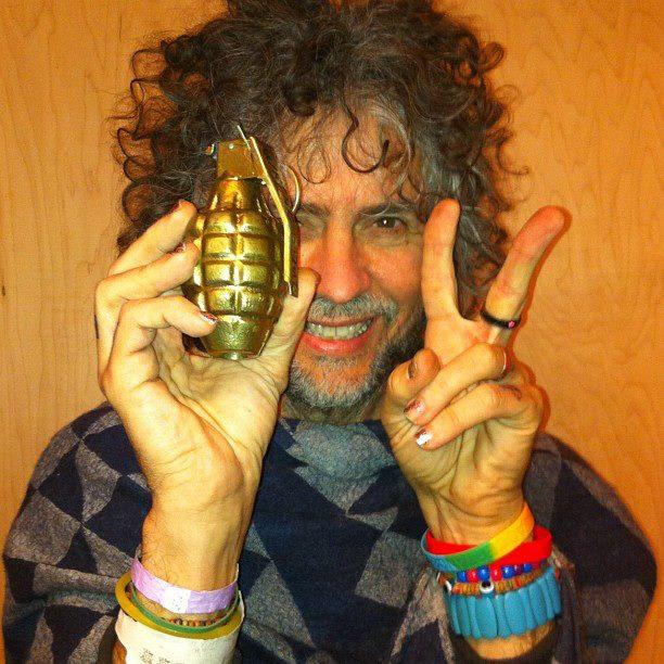 waynegrenade Buy Wayne Coynes gold grenade