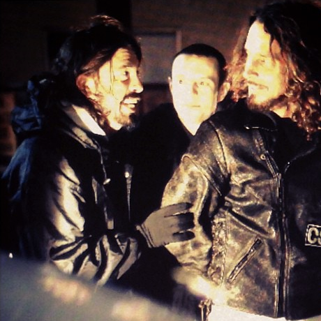 chris cornell dave grohl deadmau5 e1355960085239 Just a picture of Dave Grohl, deadmau5, and Chris Cornell hanging out