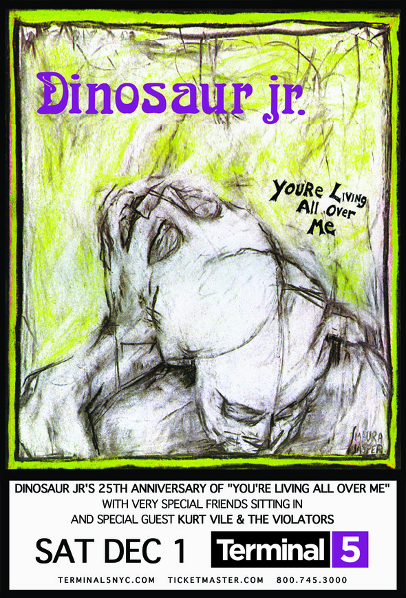 dinosaur jr 25 Watch Dinosaur Jr. perform with Johnny Marr, Sonic Youth, Frank Black, and more